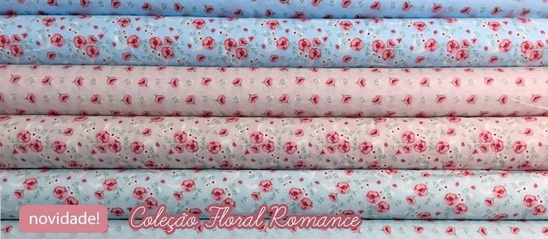 Banner Floral Romance
