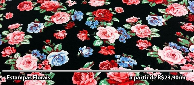 Floral Preto