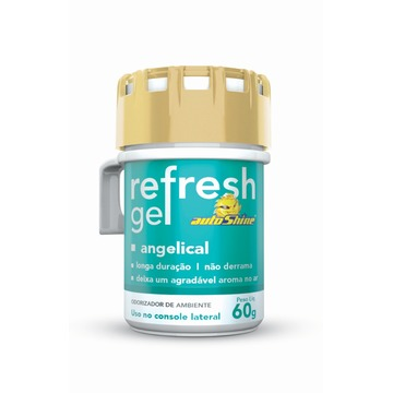 Autoshine Aromatizante  Refresh Gel Angelical - 60g