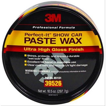 3M Perfect-It Cera Paste Wax, 39526 (297,7g) - Importada