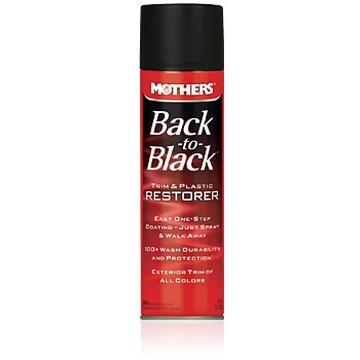 Mothers -  Back To Black - Trim & Plastic Restorer - Restaurador de Plásticos - Spray - 236g