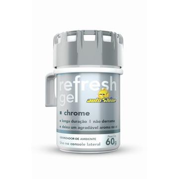 Autoshine Aromatizante  Refresh Gel Chrome - 60g