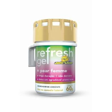 Autoshine Aromatizante  Refresh Gel Pear Femme - 60g