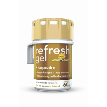 Autoshine Aromatizante  Refresh Gel Cupcake - 60g