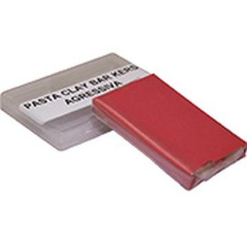 Kers Clay Bar Vermelha - Barra de Descontaminação de Pintura  - Agressiva - 80g